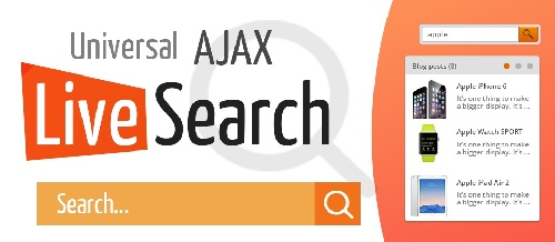 Universal AJAX Live Search 5.4.0