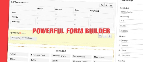 Geek Form Builder 1.0.0