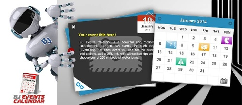 BJ Events Calendar 1.0.0