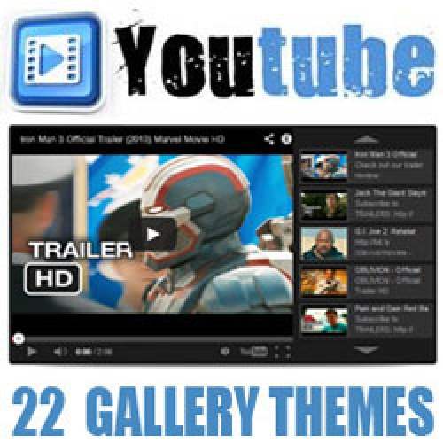 Youtube Video Gallery Pro 2.0.3