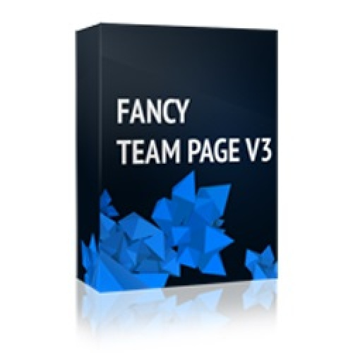 Fancy Team Page V3 1.0